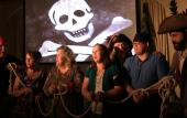 Guests are invited to spend an evening with the pirates on the Pirate Melee group tour in St. Augustine, FL.