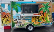 Po' Boy Paul's food truck in St. Augustine, FL.
