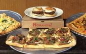 Pizzas and sandwiches available at Romano's Pizza and Grill in St. Augustine.