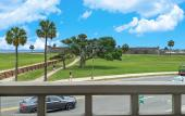 A view from the deck of the Sainte-George Restaurant on the bayfront in St. Augustine.