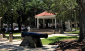 Plaza de la Constitucion along one of the St Augustine Experiences tours in St. Augustine.