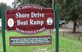 Shore Drive Park and Boat Ramp in St. Augustine, FL
