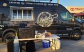 Skillet food truck ready for guests in St. Augustine.