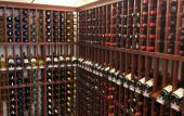 The wine cellar at Southern Vibes Tasting Room and Wine Cellar at Murabella Crossing in St. Augustine.