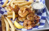 Shrimp and fries from St. Augustine Seafood Company