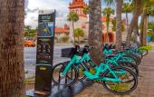 Gotcha Bike Sharing program is available in historic downtown St. Augustine, FL.