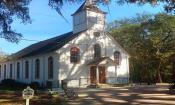 Historic St. Ambrose Church just in Elkon, FL.