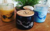 Custom candles from Vilano Beach Candle Company in St. Augustine, FL