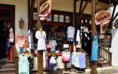 Vintage Clothing Co. offers a wide selection of shirts, swimwear, souvenirs, and more.