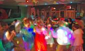 Dancing under the disco bal