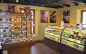 Inside Whetstone Chocolates on St. George Street
