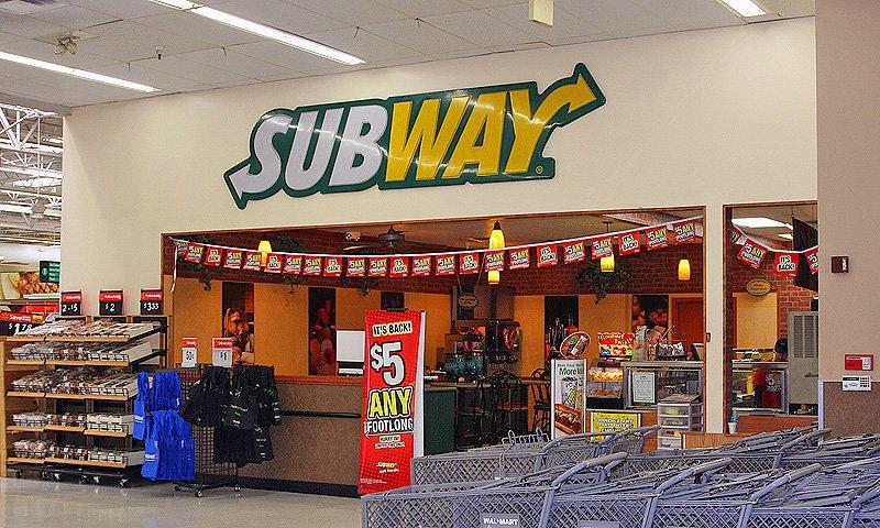 Subway Wal Mart Visit St Augustine