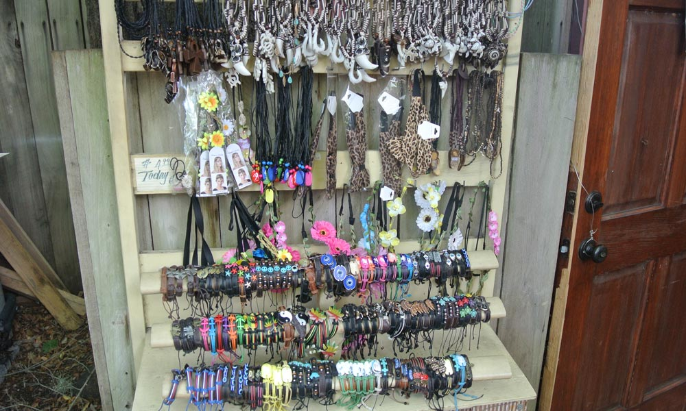 A Large Selection Of Bracelets Right Outside Aloha Jewelry