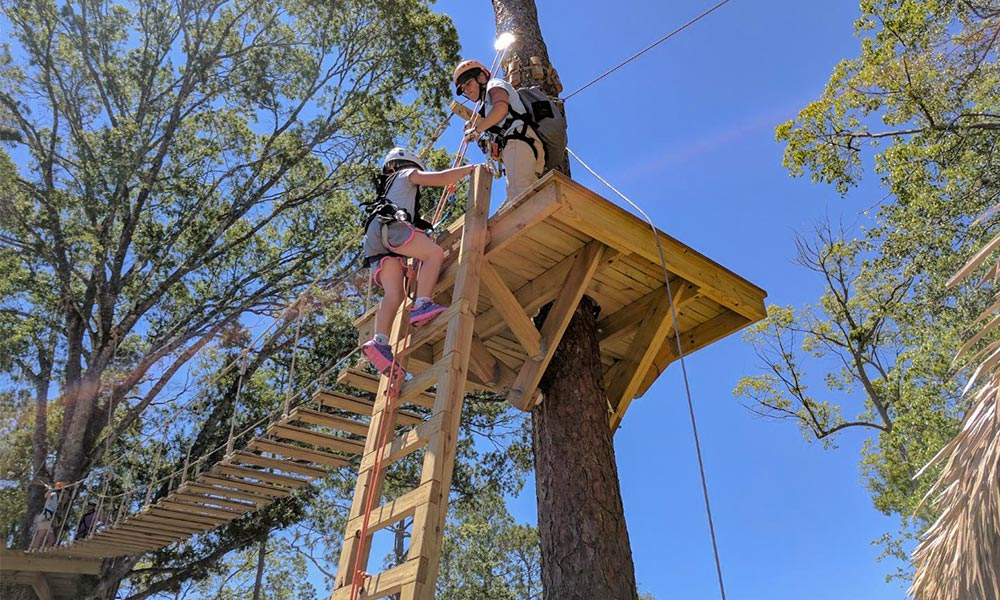 Zipstream Castaway Canopy Adventure Visit St Augustine