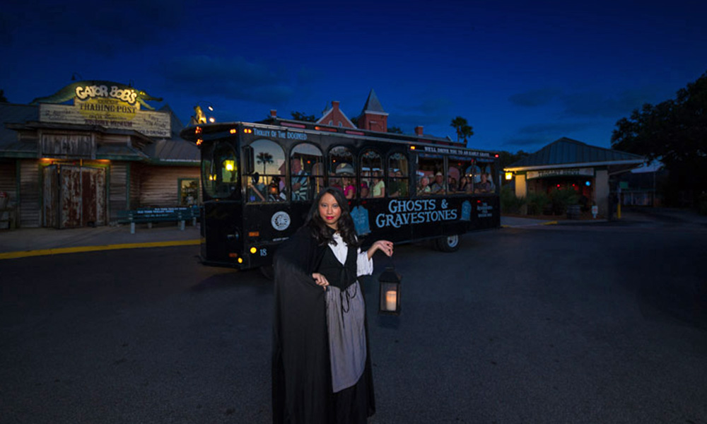 Ghost and graveyard tour st augustine