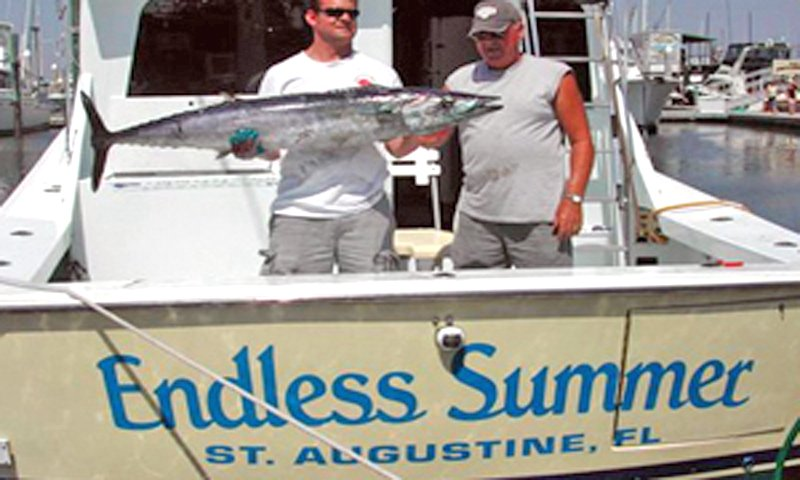 Endless summer charters visit st augustine for Deep sea fishing st augustine