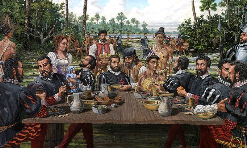 100 the first thanksgiving dinner really adventure for What did they eat at the first thanksgiving