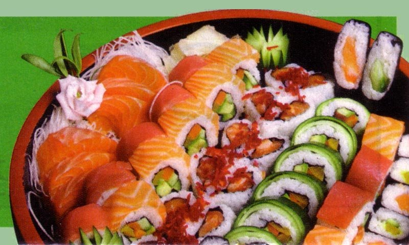 Image result for sushi wasabi