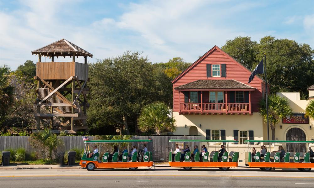 Good Day Sunshine Old Florida Village : Old town trolley tours visit st augustine