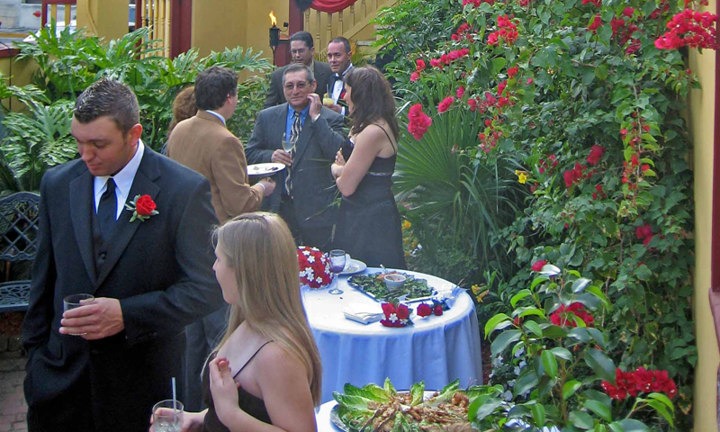 Old City House Inn Weddings Visit St Augustine