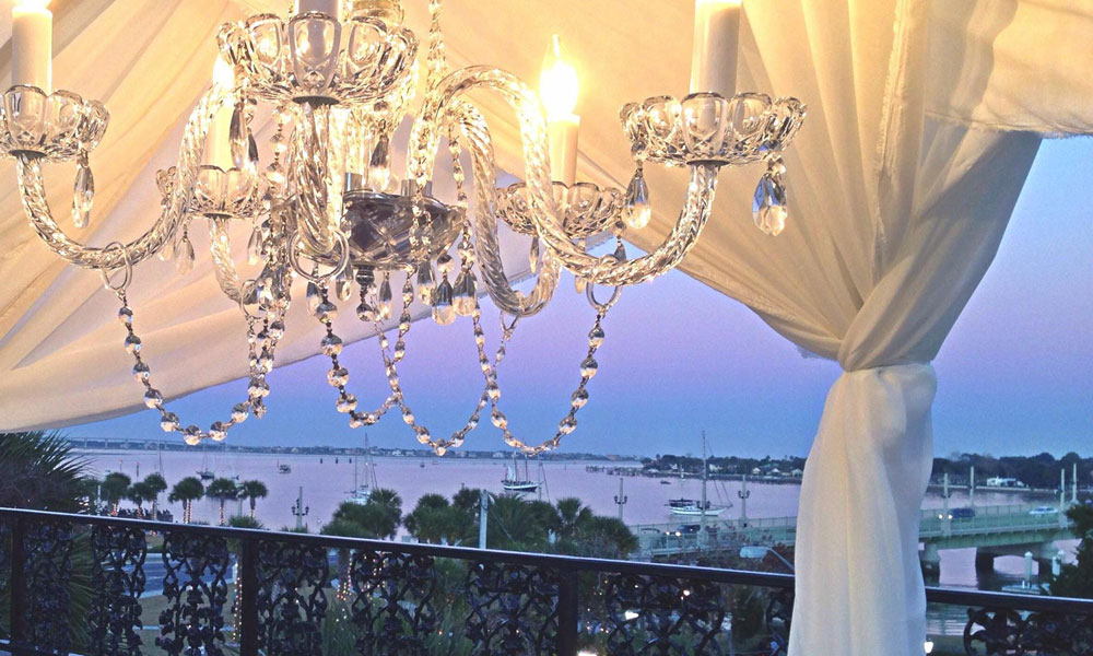 The Breathtaking View From Rooftop At St Augustines White Room Wedding Venue
