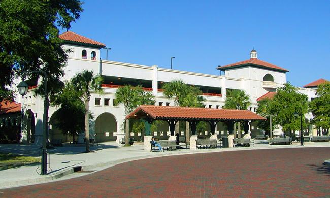 historic downtown parking facility visit st augustine